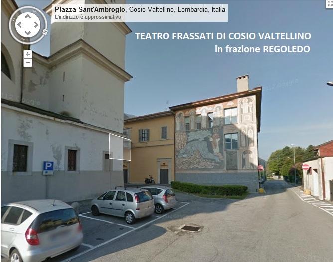 Esterno lato nord teatro Pier Giorgio Frassati