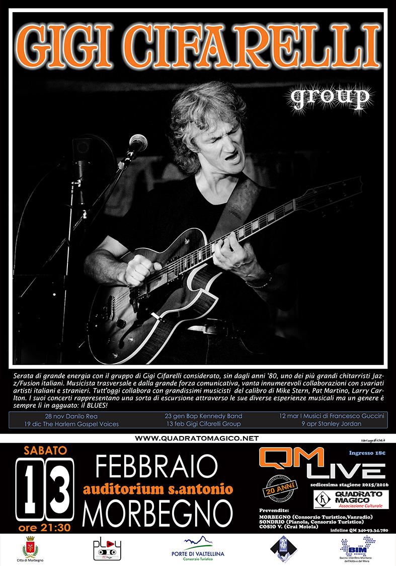Gigi Cifarelli Group al QM live