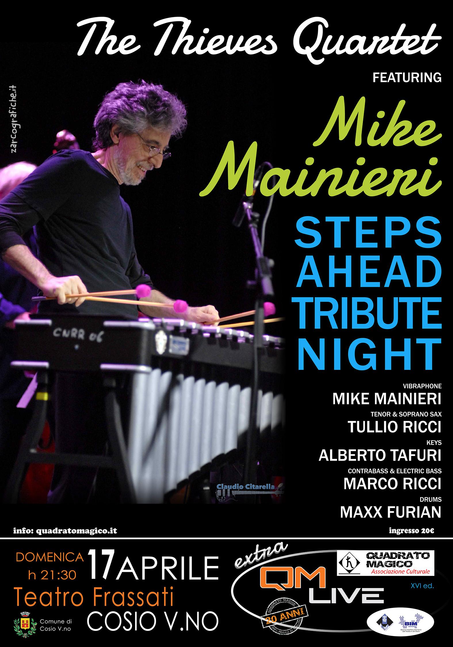 Mike Mainieri al QM live