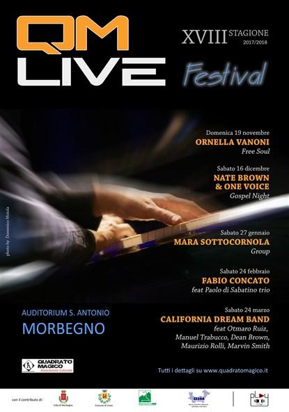 Manifesto QM LIVE Festival 17-18
