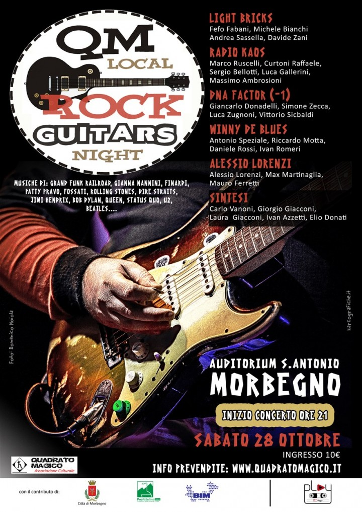 ROCK GUITARS NIGHT