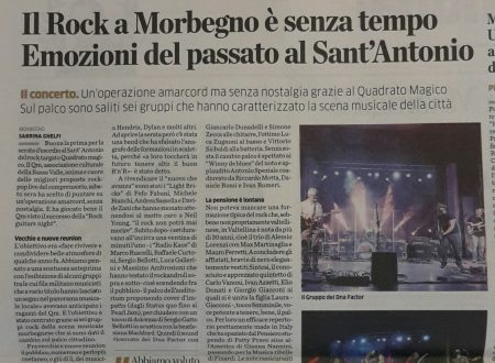 Rock Guitars Night – rassegna stampa.
