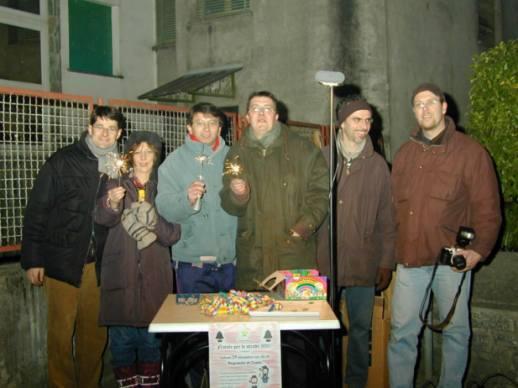 1996 Natale per le strade