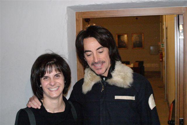 2007 con Alberto Fortis