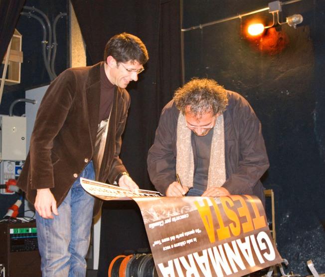 2008 con Gianmaria Testa