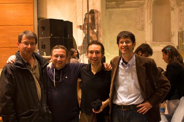 2008 con Pino Marino e Niccolò Fabi