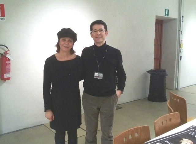 2013 con Rita Marcotulli