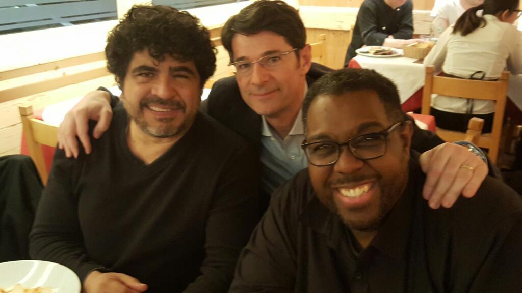 2018 con Otmaro Ruiz e Marvin Smitty Smith
